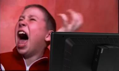 Frustrated DDoS attacker